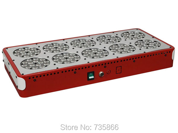 Apollo 10 LED Grow Lights Vegetation and Flowering 2 Modes for Indoor Growing Lighting Freeship(China (Mainland))
