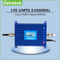 FDD Band 1 UMTS 2100Mhz mobile signal booster Gain 70dB 3G signal repeater 2100mhz HSPA WCDMA