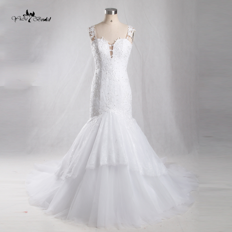2016 bridal wedding gown real photos white lace cheap for White wedding dress cheap