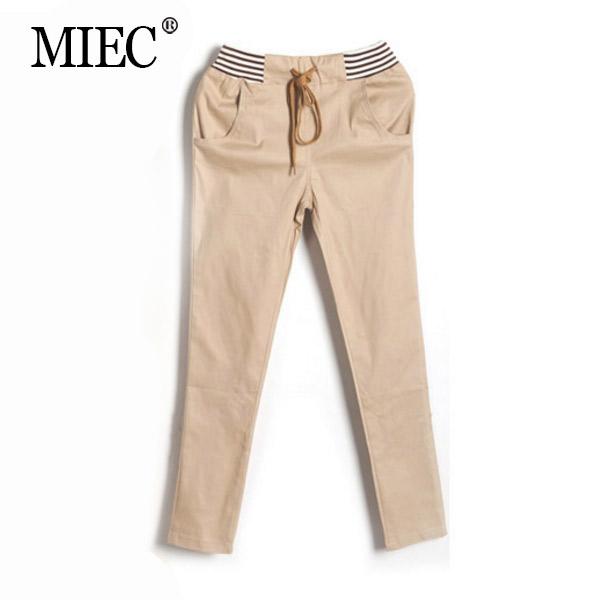 MIEC clearance sale NEW womens trousers cotton woman pants straight pencil cargo leopard plus size casual Hallen - Apparel Co., Ltd. store