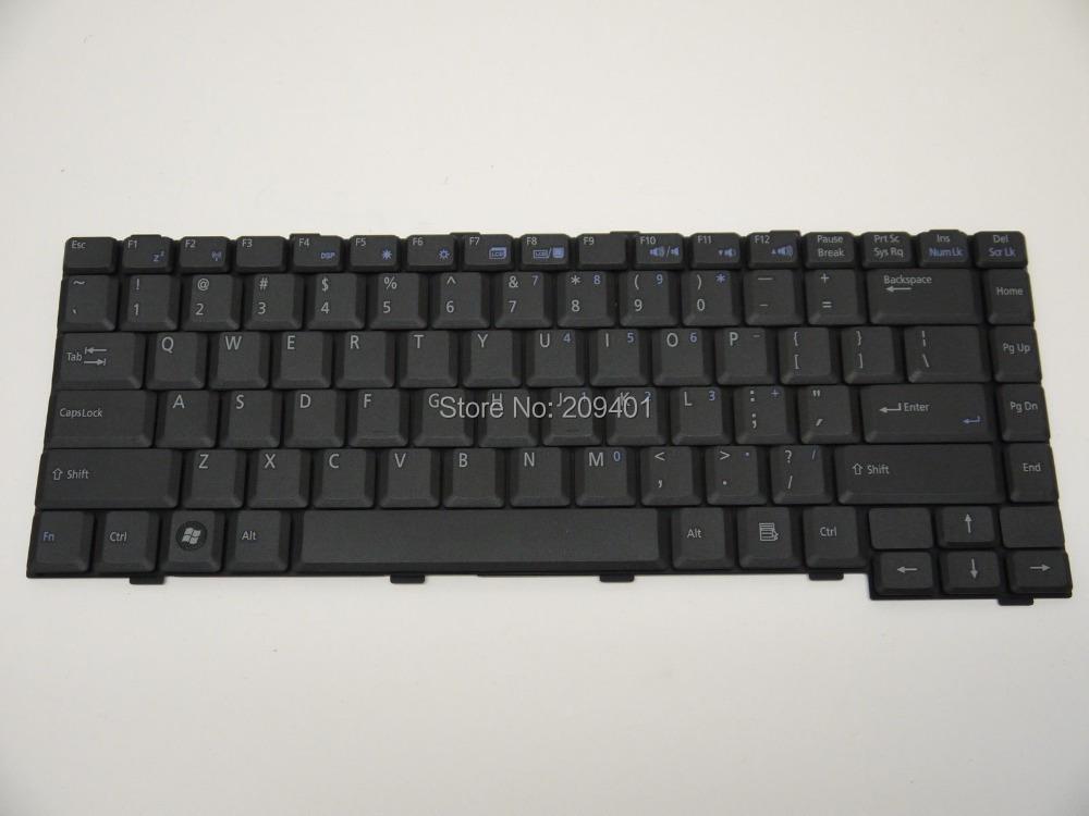 Asus W2 W2J W2V W2000 Laptop keyboard US Version Black - Shenzhen Huasheng Parts store