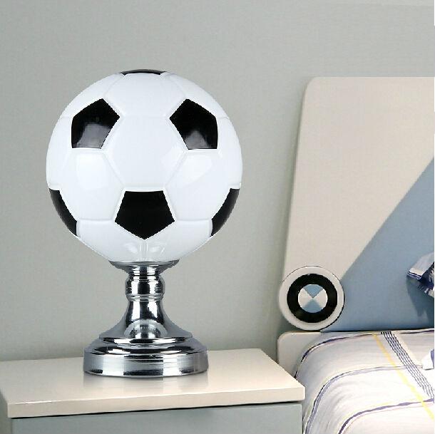 Modern football table lamp children lamps for home bedroom lighting