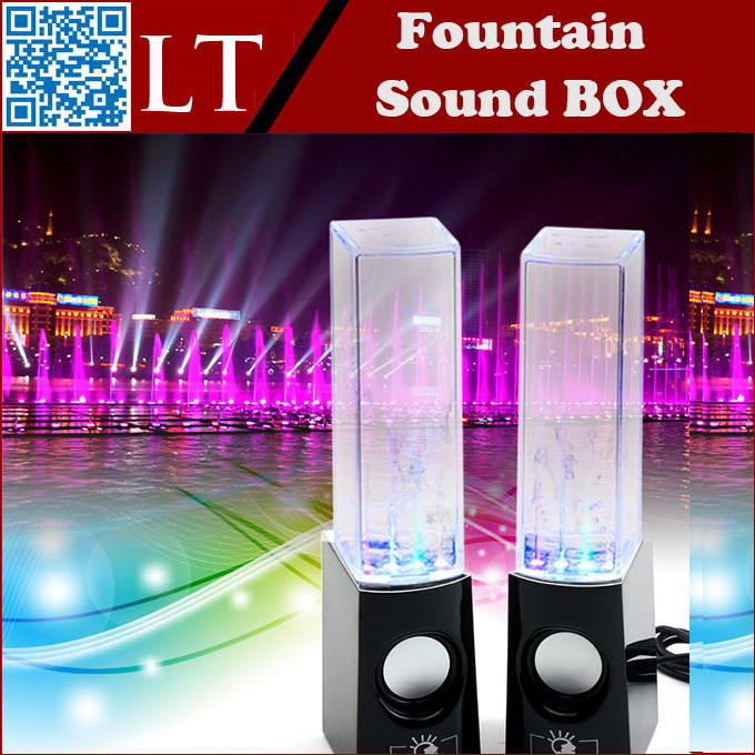mini stereo pill subwoofer portable water fountain speaker sound box speakers I6 for IPAD, IPHONE, MOBILE PHONE, COMPUTER(China (Mainland))