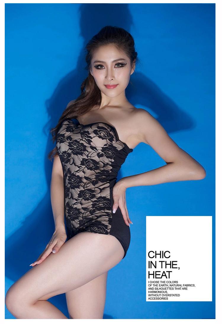 Sexy Woman costumes Nightclub Bar Brand apparel Lace ds/dj jazz singer lead dancer clothes leotard