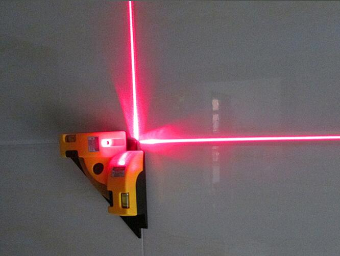 Hot selling Right angle 90 degree square Laser Level high quality level tool laser Measurement tool