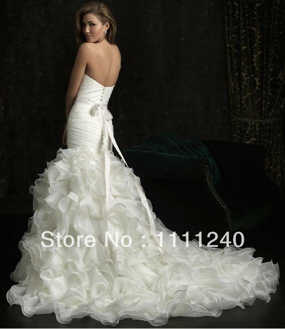 2015free shipping 100 gurantee high quality white ivory for Wedding dress beading patterns