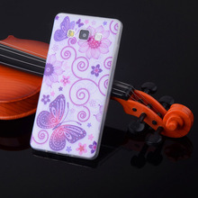 Ultra Thin Soft Plastic Case Painted Silicone Cover With various Patterns For Samsung Galaxy A3 A300X