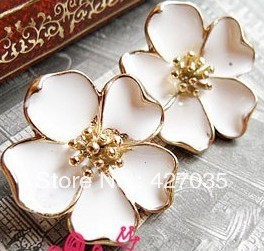 Hl31405 accessories oil beautiful jasmine flower stud earring earrings earring