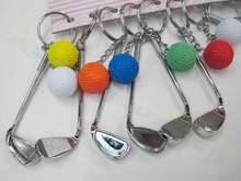 2 piezas bolsa de voleibol colgante mini llavero de voleibol llavero de plástico pequeños adornos deportes publicidad fans regalos de recuerdos(China)