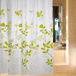 Multicolour butterfly waterproof shower curtain curtain home bathroom products for daily use
