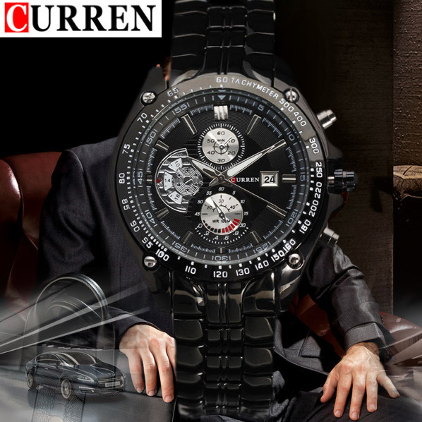 Валютам часы мужчин люксовый бренд военные часы парни весь стали наручные часы мода свободного покроя водонепроницаемый армии спортивные кварцевые, M83