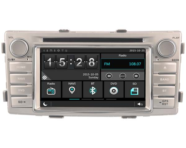 FOR TOYOTA HILUX 2012 font b CAR b font DVD Player font b car b font