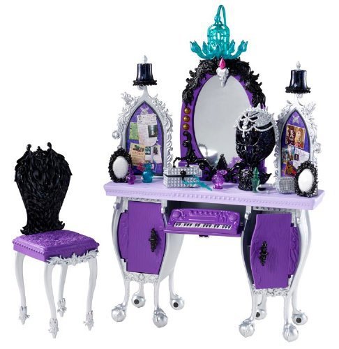 Genuine Original Ever After High Getting Fairest Raven Queen Destiny Vanity Accessory Best gift for girl Free shipping new 2014(China (Mainland))