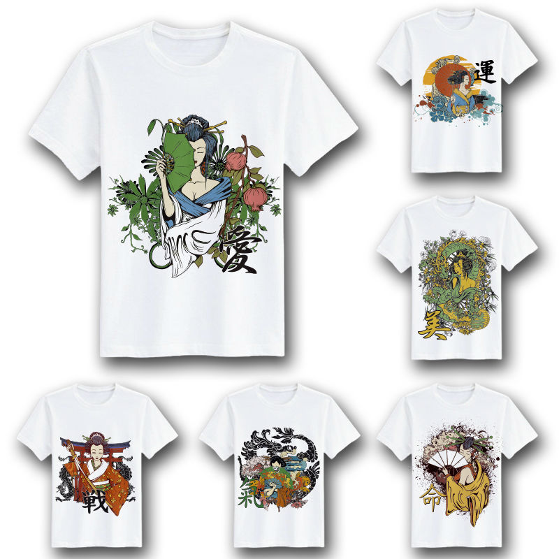 [MASCUBE TEE]Men Young Tshirts Creative Fashion T Shirt Japanese Style Design Pattern Tee Exclusive Custom Tops For Boys Girls(China (Mainland))