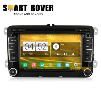 1024*600 Quad Core Android 4.4.4 Auto Radio Navi DVD For PASSAT CC TIGUAN GOLF 5 6 POLO AMAROK TRANSPORTER T5 OCTAVIA ROOMSTER