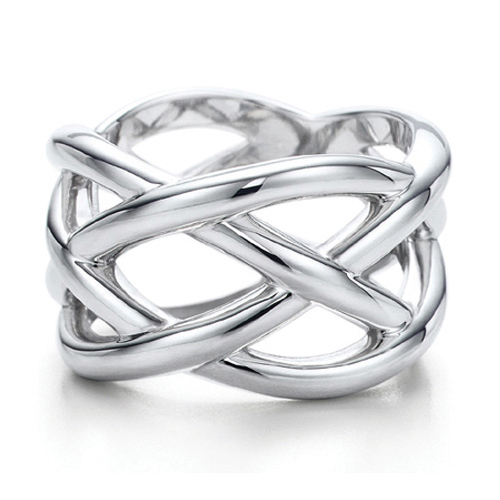 Sterling Silver Jewelry 925 Silver Rings for Women Man Silver 925 Fishnet Ring Finger Rings 2014