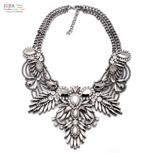 4 colors good quality  NEW style Fashion Vintage Unique collar pendant Chunky Necklace Statement Jewelry for Women necklace(China (Mainland))