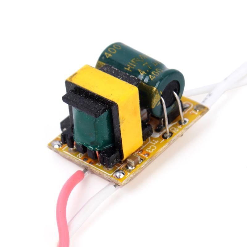 Top grade AC 85 265V Driver Supply 1x3W For High Power LED Light 600mA 68436
