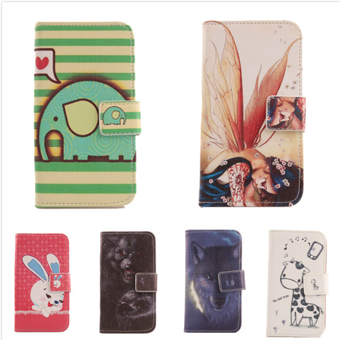 6 style selection Case Acer Liquid E3 E380 Book-Design Flip PU Leather cell phone Cover Protection wallet pouch - Leon Young store