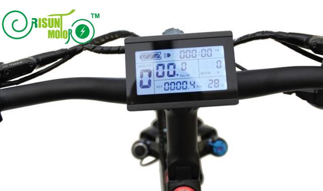 LCD3 24-48V KT Risunmotor Display Meter//Control Panel for Electric Bicycle eBike