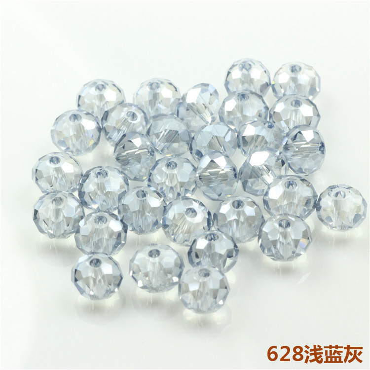 DIY Beads Mix(150pcs/lot)3*4MM Felt Ball Loose Crystal Rondelle Beads Natural Stone for Fewelry Making Crystal Glass Wheel Beads(China (Mainland))