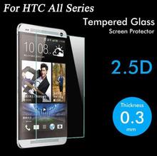 Ультратонкий 9 H 2.5D защитная пленка премиум закаленное стекло для HTC M7 M8 M9 желание 616 816 820 826 626 510 516 610 E8 E9