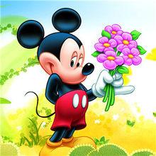 Бриллиант картина мультфильм Микки Маус ручная работа алмазная вышивка Алмазная мозаика картина Стразы для домашнего декора(China)
