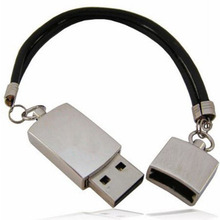 New Arrived Metal Bracelet USB Flash Drive 2 0 Memory Disk 4GB 8GB 16GB 32GB 64GB
