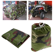 Outdooor Camping Climbing Beach Quad Bike ATV Cover Storage Waterproof Water Resistant Sunproof Dustproof Anti-UV Car Kart Cover(China (Mainland))