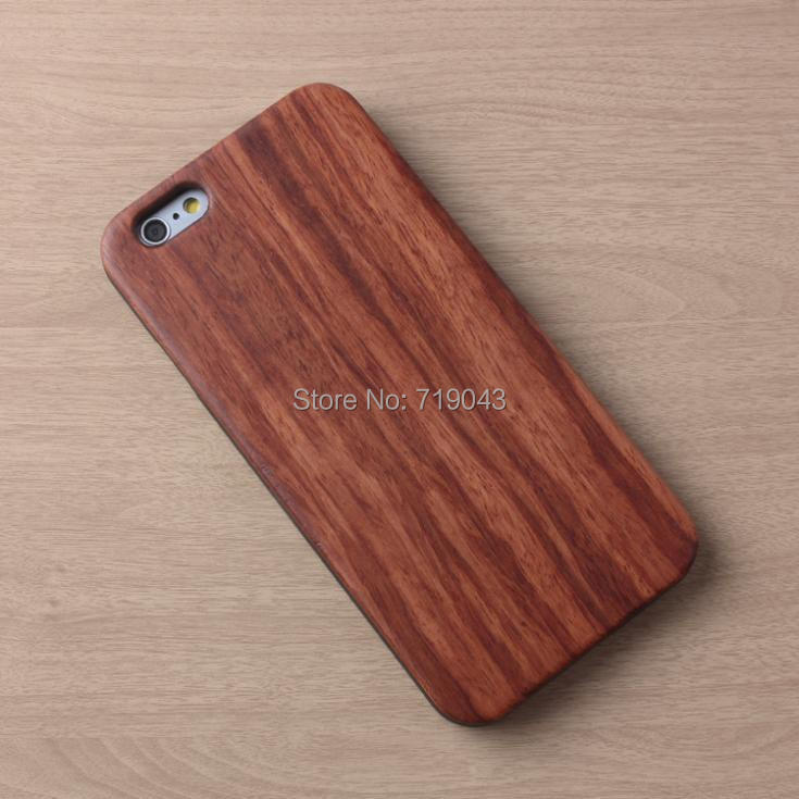 Colorful Bamboo Case iPhone 6 Natural Back 4.7inch Cover iPhone6 Genuine Wooden Phone - March_e-store store