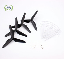 Free shipping SYMA  X5c X5sc X5sw  RC Quadcopter Drone upgrade blades + Propeller Protectors  spare parts(China (Mainland))