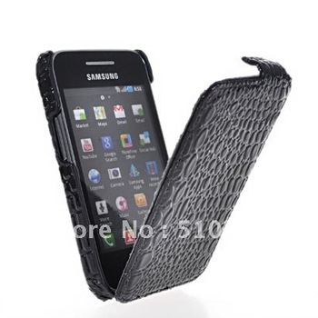 CROCODILE FILP HARD BACK CASE COVER  FOR SS S5830 GALAXY ACE  FREE SHIPPING
