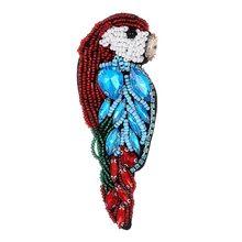 ZHINI di Modo Formale Dei Monili Spilla Spilli Strass di Cristallo Uccelli Ramo Rosso Spilli Regalo per le Donne Spille Gioielli Spilla di Nozze(China)