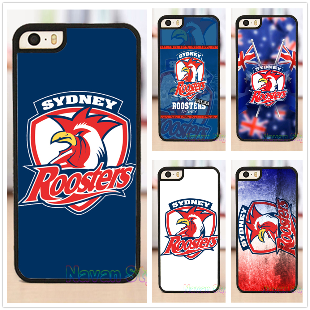 NRL Sydney Roosters original cell phone case cover for iphone 4 4s 5 5s se 5c 6 6 plus 6s 6s plus 7 7 plus #M159(China (Mainland))