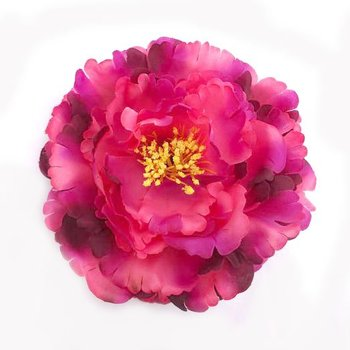 6pcs/lot Free Shipping Artificial Peony Flower Hair Clips/Brooch Pins. Wedding Party Woman Flower Hair Fascinator. 3 colors