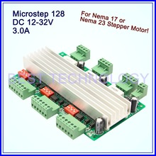 Buy 3Axis CNC Driver Board 3A 12-32VDC 128 Microstep Stepper motor Driver Board Nema17,Nema 23 stepping motor driver control board for $40.00 in AliExpress store