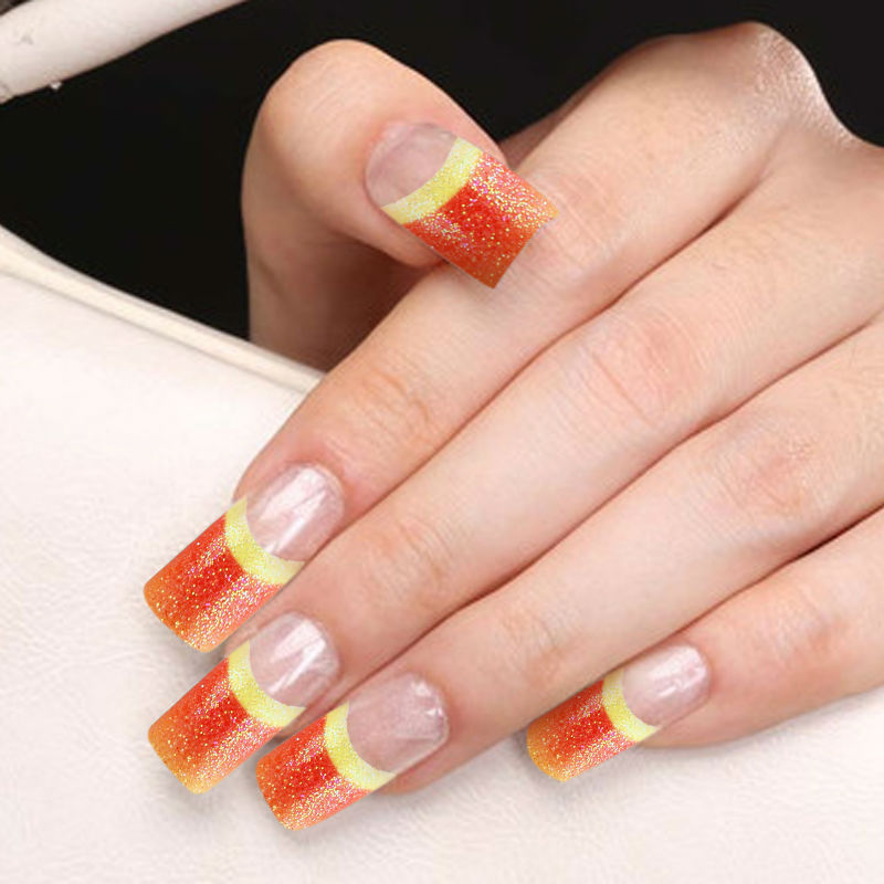 Wholesale Yaoshun French Manicure False Nail Tips Fashion Elegant ...