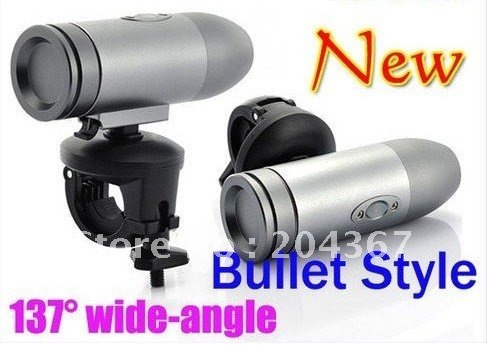 720P Waterproof Outdoor Action Helmet Sports Diving Camera RD36 Bullet shape Mini cam DVR - Tang Tang's store