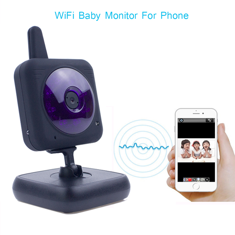 360 Camera Wireless Mini Wifi Camera Professional Safety Digital Camera Radio Nanny Video Baby Monitor with Camera For Mobile(China (Mainland))
