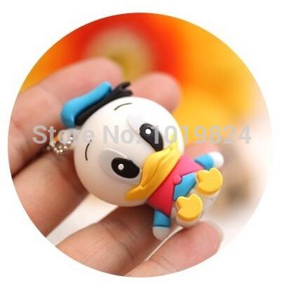 100% real capacity lovely Donald Duck usb flash drive cartoon pendrive USB Pen Drive Disk Flash Memory Stick pendriveping S243(China (Mainland))