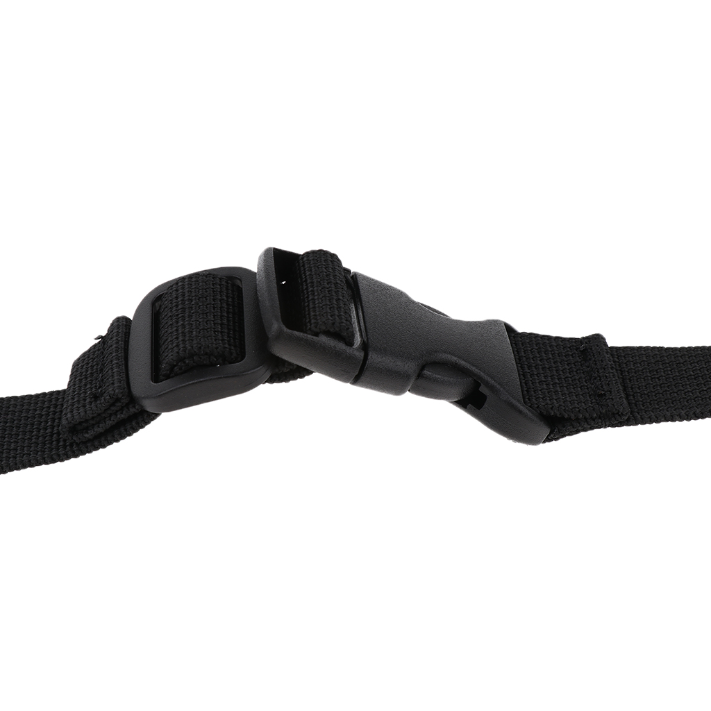 Replacement Rock Climbing Chalk Bag Adjustable Nylon Waist Belt Strap with Clip Buckle 118 x 1.8cm
