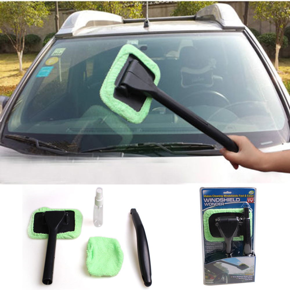 1 Set Washable Handy Windshield Wonder Auto Car House Window Glass Wiper Cleaner Tool(China (Mainland))