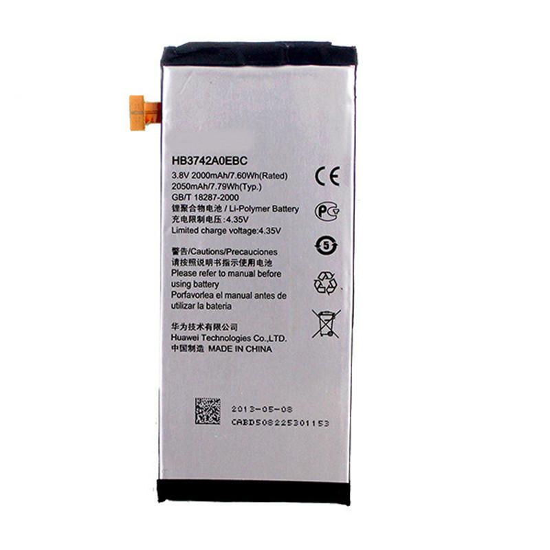 Гаджет  Genuine Real Original HB3742A0EBC 2000mAh battery Huawei Ascend P6 Replacement Backup Battery None Электротехническое оборудование и материалы