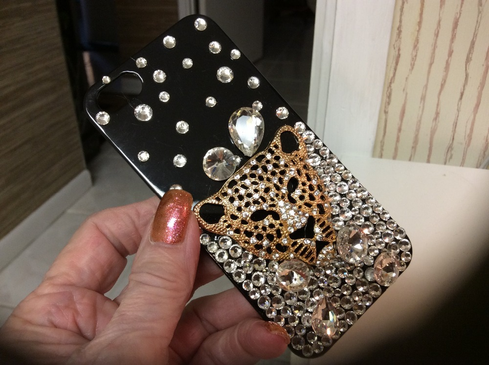 Luxury Bling Fox Crystal Diamond Phone Case Cover For Iphone 6 6S Plus 5 5C 4S
