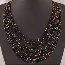 SPX5397 New 2014 Fashion Bohemian Bead Necklaces fashion necklaces for women 2014 collares accessories Body Jewelry