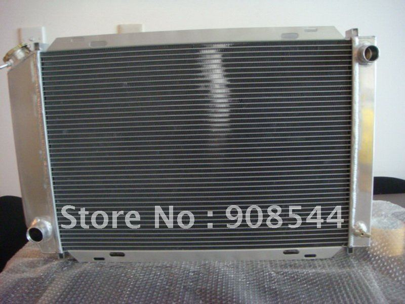 Fit for FORD MUSTANG 79-93 MANUAL Aluminum Racing Auto Radiator(China (Mainland))