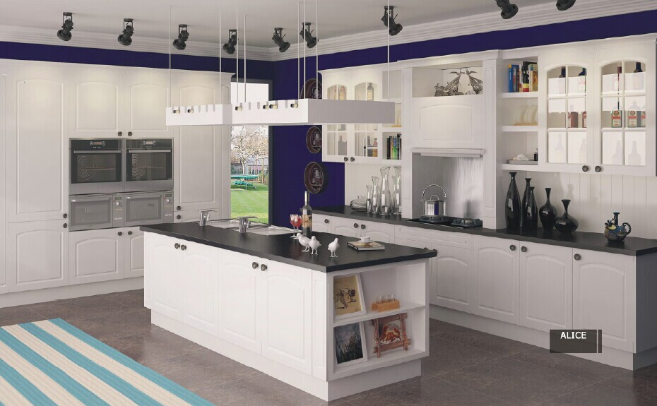 Plywood kitchen cabinets high quality customed kitchen cabinet K011(China (Mainland))