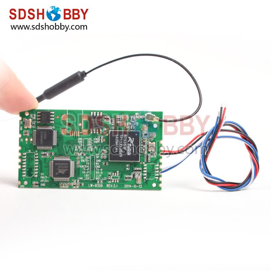 Telemetry AV to WiFi Adaption Adapter Module for RC Airplanes/ Multicopter<br><br>Aliexpress