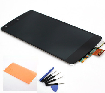 100% Tested, Black LCD Display Touch Screen Assembly+adhesive+tools for LG Google Nexus 5 D820 D821, free shipping+track No.
