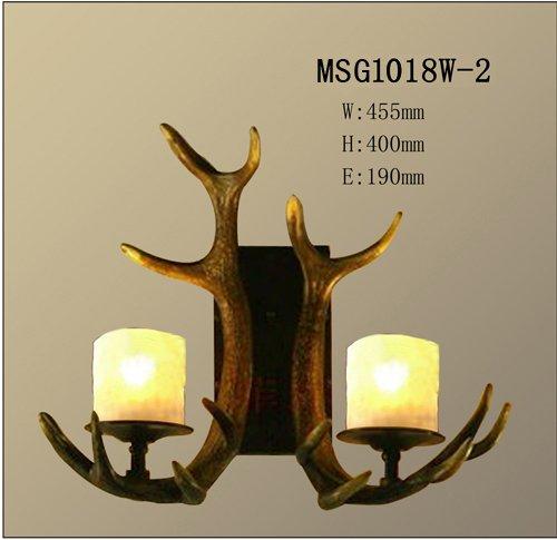 Gewei lamp gewei mount lights amerikaanse landelijke stijl for Lamp gewei